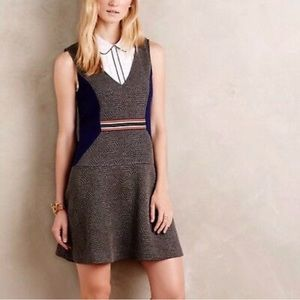 Anthropologie Maeve Ludlow Quilted Dress